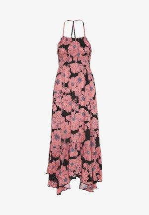 HEATWAVE PRINTED MAXI - Maxi šaty - black