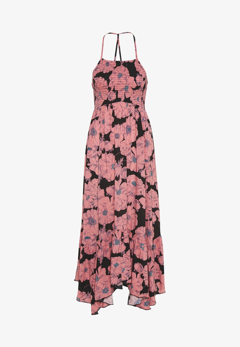 Free People - HEATWAVE PRINTED MAXI - Maxi šaty - black