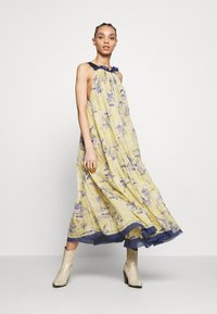 Free People - TROPICAL TOILE MAXI - Denní šaty - green - 2