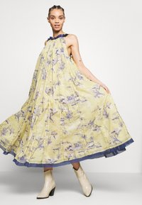 Free People - TROPICAL TOILE MAXI - Denní šaty - green - 5