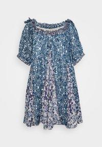 Free People - JET SET MINI - Denní šaty - blue - 0