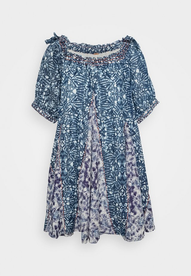 JET SET MINI - Denní šaty - blue