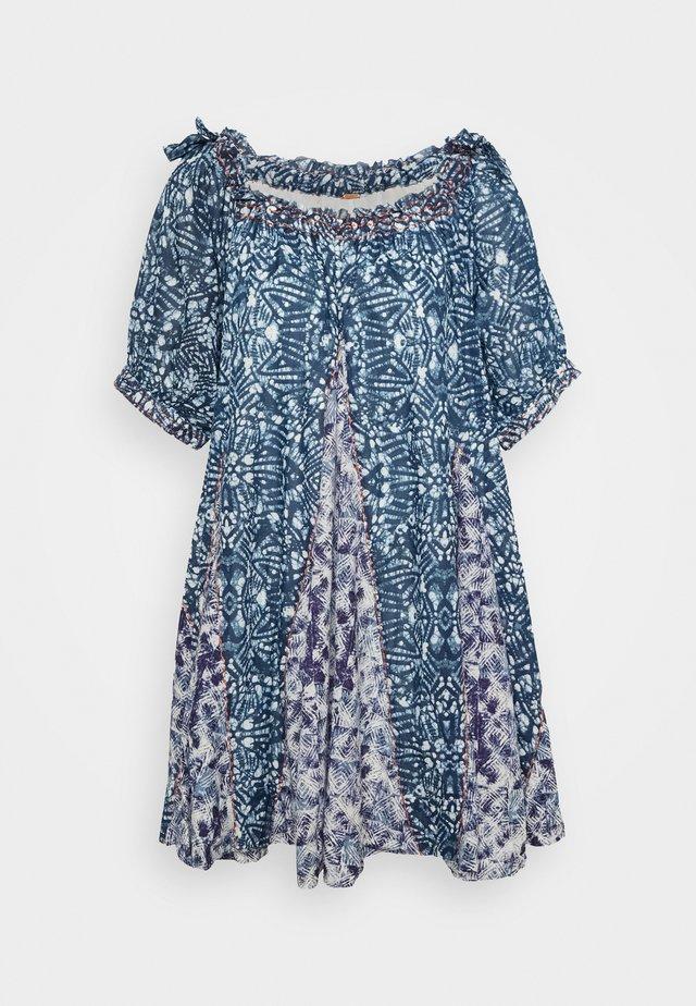 JET SET MINI - Korte jurk - blue