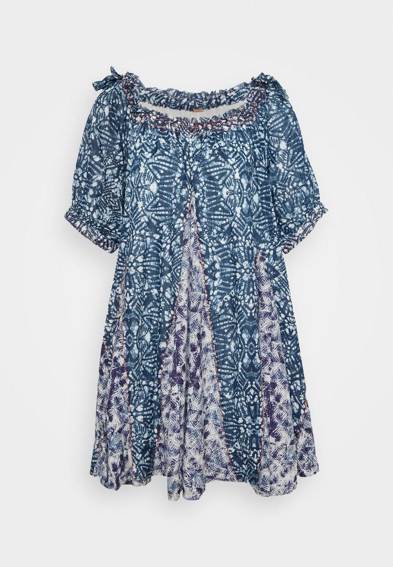 Free People - JET SET MINI - Denní šaty - blue