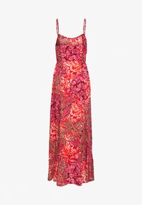 Free People - FOREVER YOURS SMOCKD SLIP - Maxi šaty - red - 1