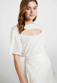 Free People - JUNE TEE - T-shirt imprimé - white