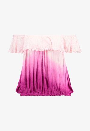CORA LEE TEE - T-shirt med print - rasperry