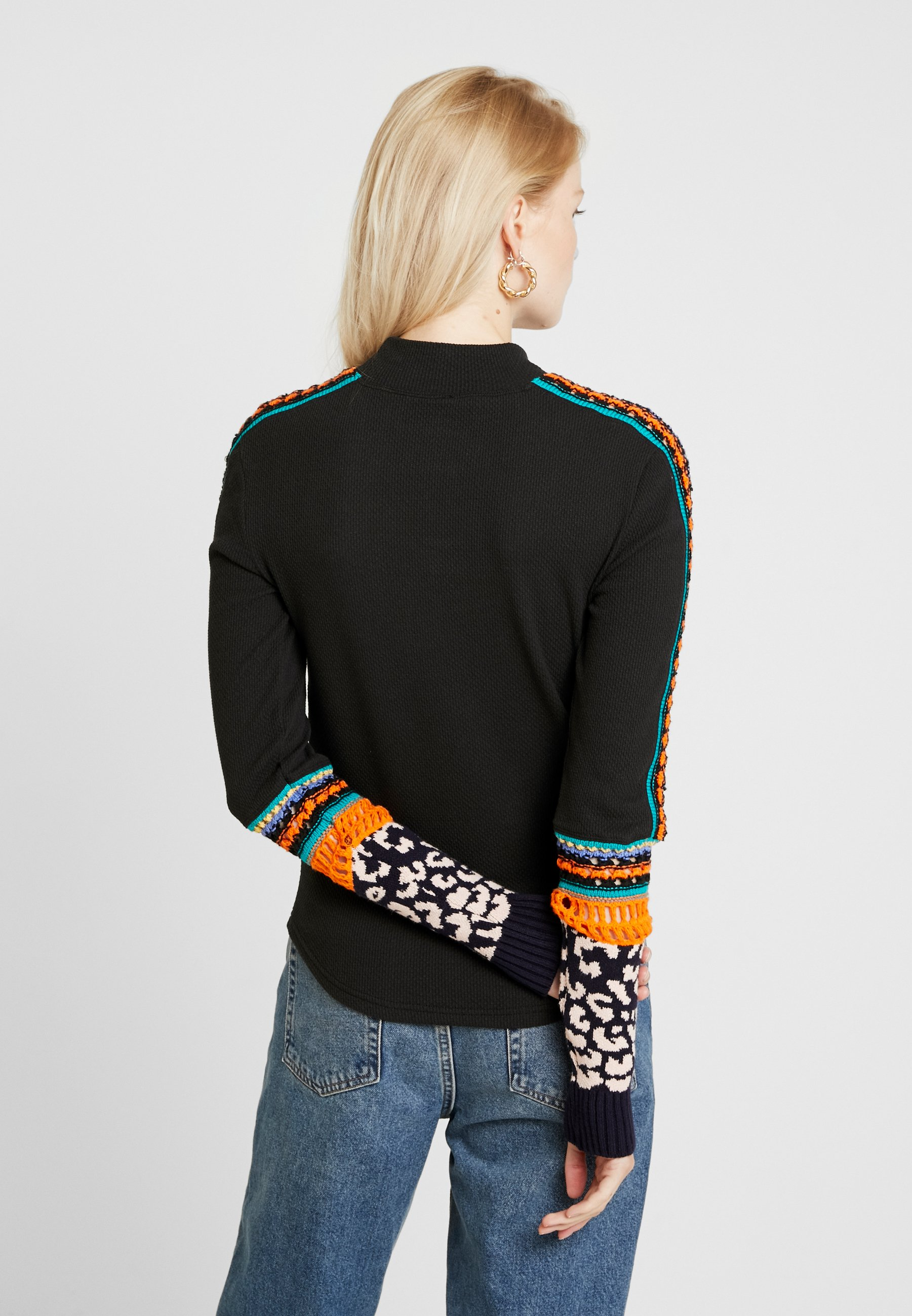 Free People SWITCH IT UP THERMAL - Pullover black
