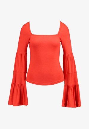 BABETOWN - Long sleeved top - red