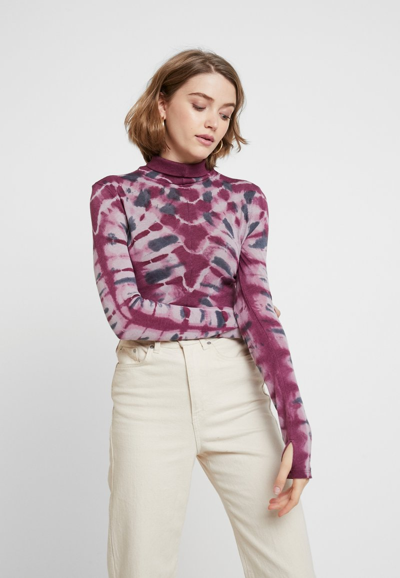 Free People - PSYCHEDELIC TURTLE - Jumper - wine