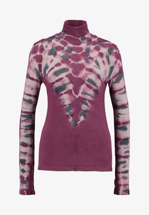 PSYCHEDELIC TURTLE - Sweter - wine