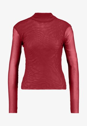 DOUBLE LAYER  - Long sleeved top - wine