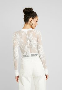 Free People - COOL WITH IT LAYERING - Blůza - ivory - 2
