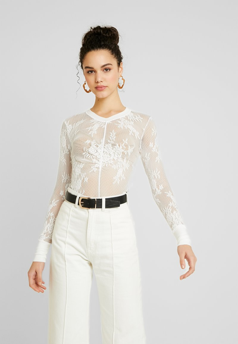 Free People - COOL WITH IT LAYERING - Blůza - ivory