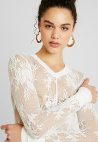 Free People - COOL WITH IT LAYERING - Blůza - ivory - 4