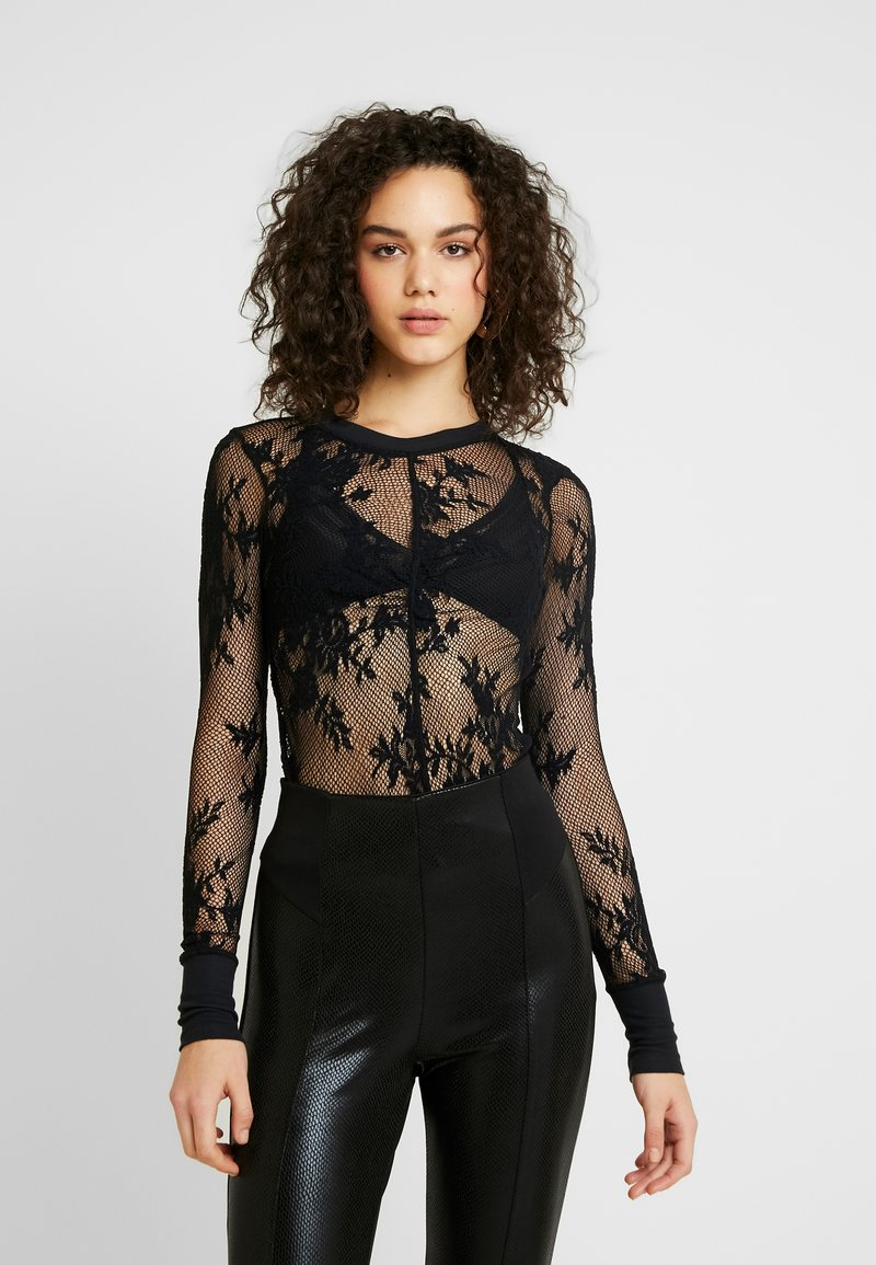 Free People - COOL WITH IT LAYERING - Blouse - black