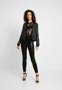 Free People - COOL WITH IT LAYERING - Blouse - black - 1