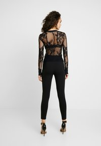Free People - COOL WITH IT LAYERING - Blouse - black - 2