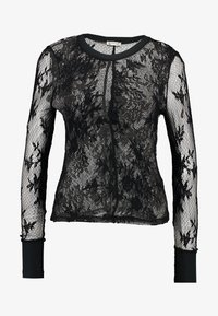 Free People - COOL WITH IT LAYERING - Blouse - black - 3
