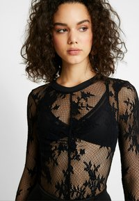 Free People - COOL WITH IT LAYERING - Blouse - black - 4