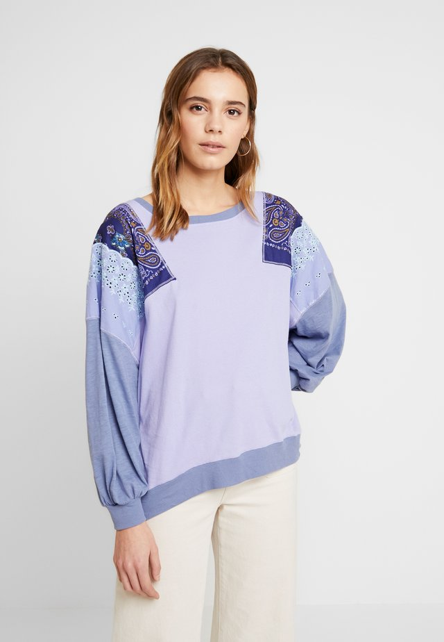 FEELIN IT TEE - Long sleeved top - lilac