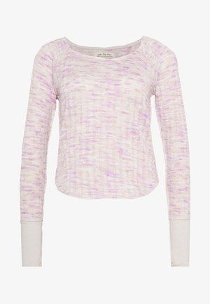 SPACED OUT LONG SLEEVE - Strikkegenser - pink