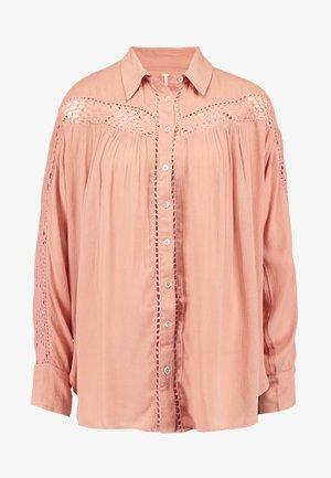 KATIE BIRD BUTTONDOWN - Koszula - pink
