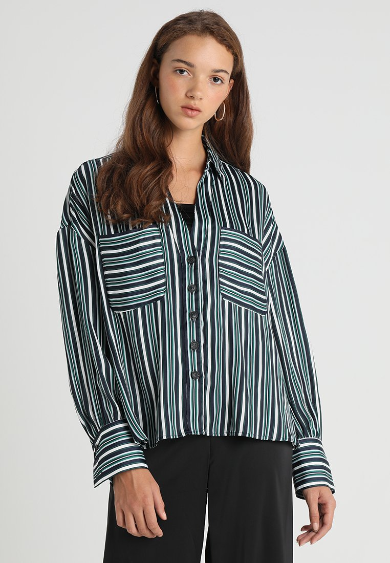 Free People - MAD ABOUT YOU BUTTONDOWN - Hemdbluse - navy