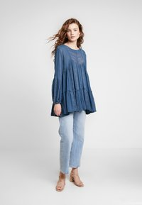Free People - KISS KISS TUNIC - Tunique - navy - 1