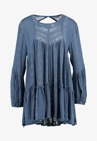 Free People - KISS KISS TUNIC - Tunique - navy - 4