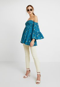 Free People - LANA TUNIC - Blouse - ocean blue - 1