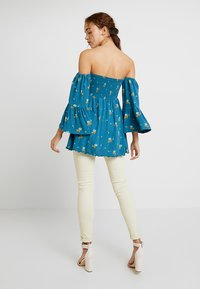 Free People - LANA TUNIC - Blouse - ocean blue - 2