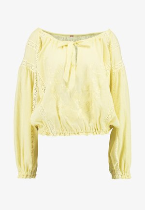 MARIA MARIA BLOUSE - Blouse - yellow