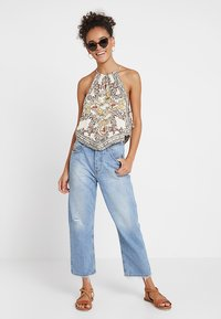 Free People - SOFIA PRINTED HALTER - Topper - ivory - 1