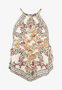 Free People - SOFIA PRINTED HALTER - Topper - ivory - 4