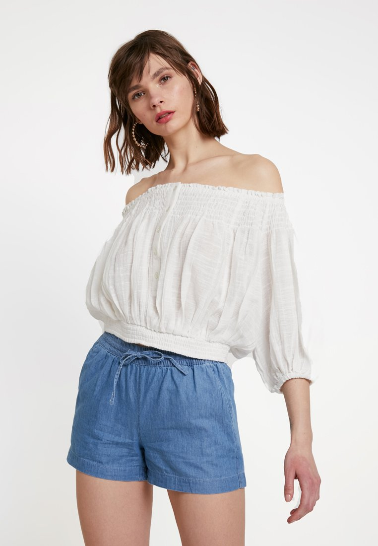 Free People - DANCING TILL DAWN - Blouse - white
