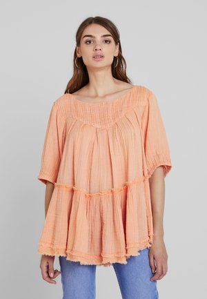 MYSTERY LAND TUNIC - Bluser - peach