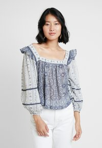 Free People - MOSTLY MEADOW BLOUSE - Blůza - ivory - 0