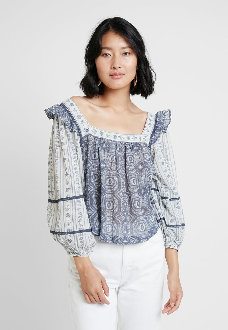 Free People - MOSTLY MEADOW BLOUSE - Bluser - ivory