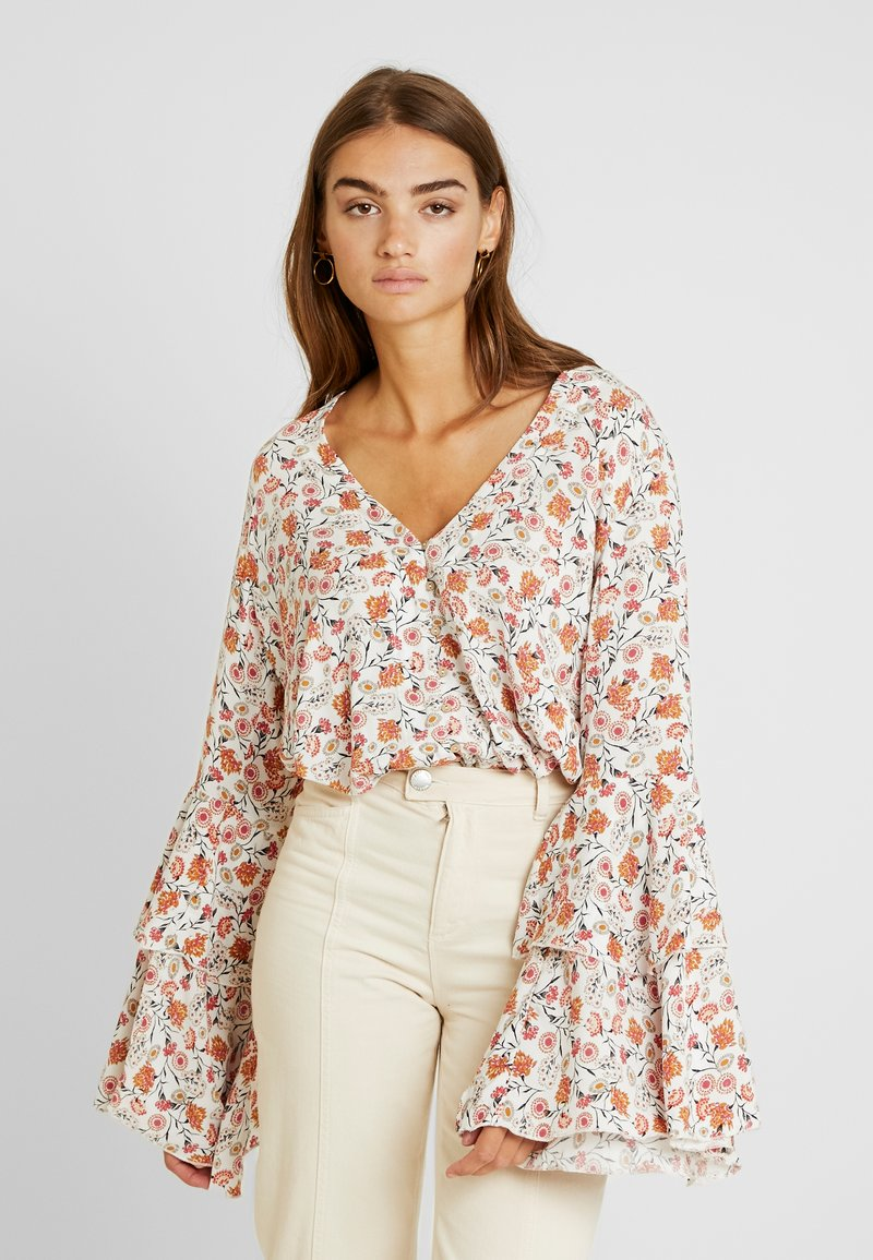 Free People - SHES DAINTY - Blus - ivory combo