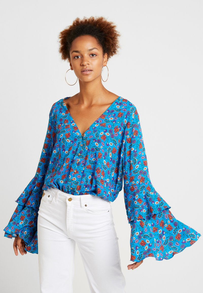 Free People - SHES DAINTY - Blůza - blue