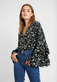 Free People - SHES DAINTY - Camicetta - black - 0