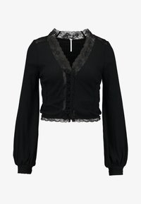 Free People - RUN WITH ME CARDI - Gilet - black - 5