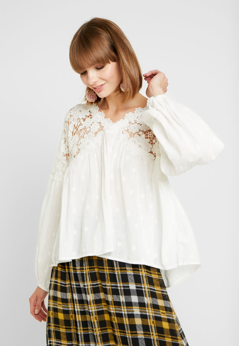Free People - LINA  - Blůza - white