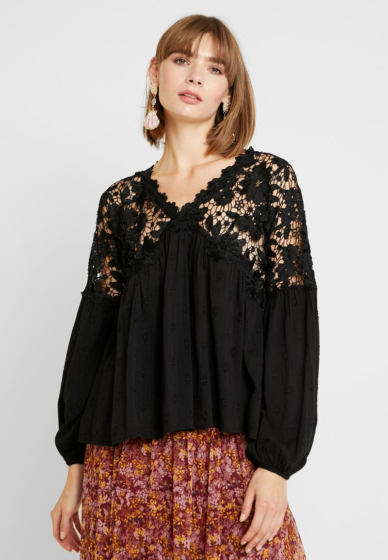 Free People - LINA  - Blůza - black