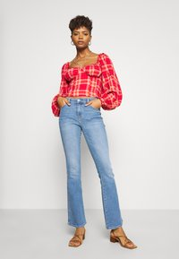 Free People - CHERRY BOMB MADRASS PLAID - Blouse - red - 1