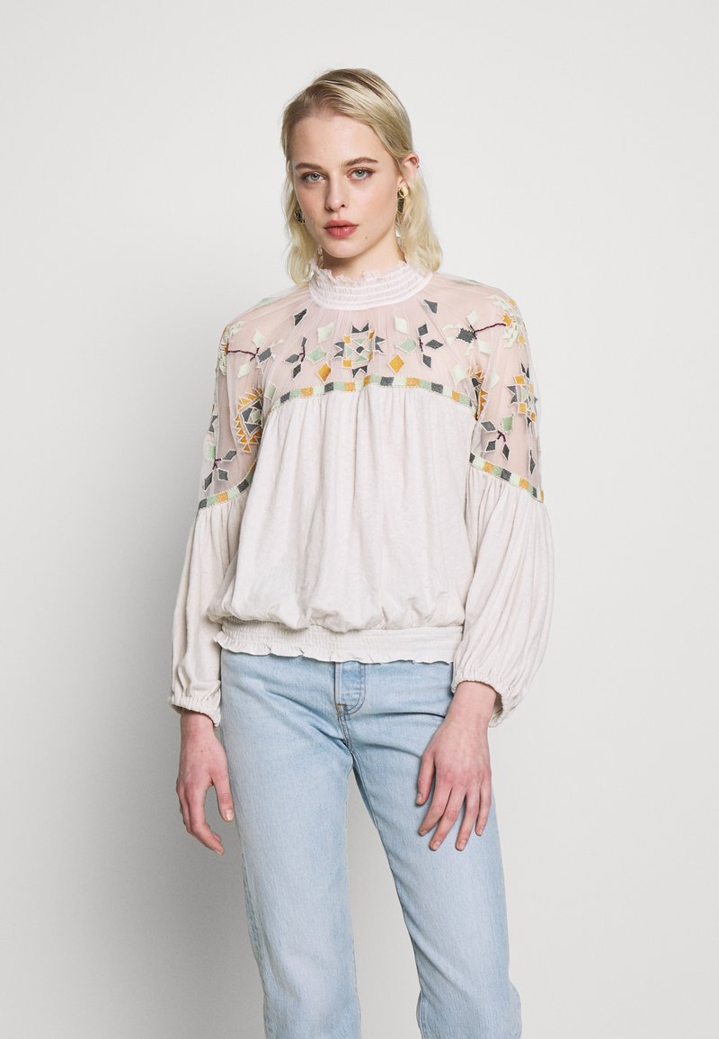 Free People - MONDAY MORNING TOP - Blůza - off-white