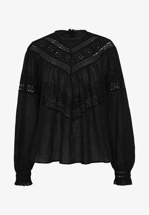 ABIGAIL VICTORIAN - Bluser - black