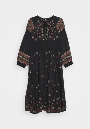 MYKONOS MAXI  - Summer jacket - black
