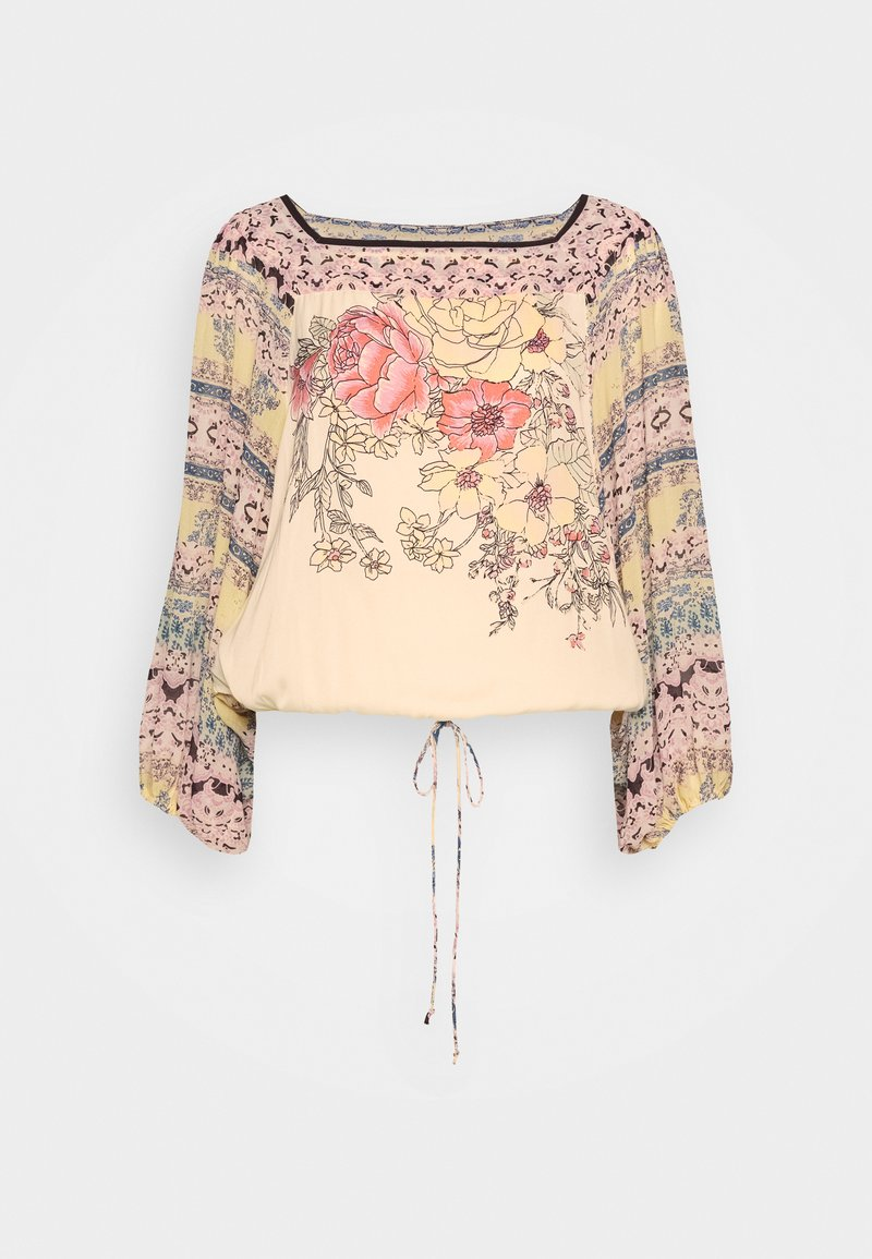 Free People - BLUE NILE TOP - Blůza - off white